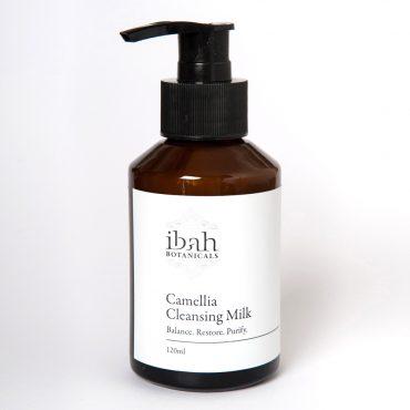 Camellia Cleansing Milk-natural organic vegan skin care Australia 02 42687 2865