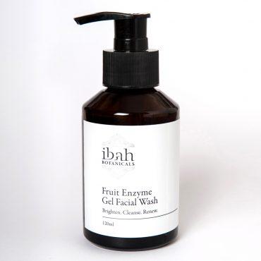 Fruit Enzyme Gel Facial Wash-natural organic vegan skin care Australia 02 42687 2865