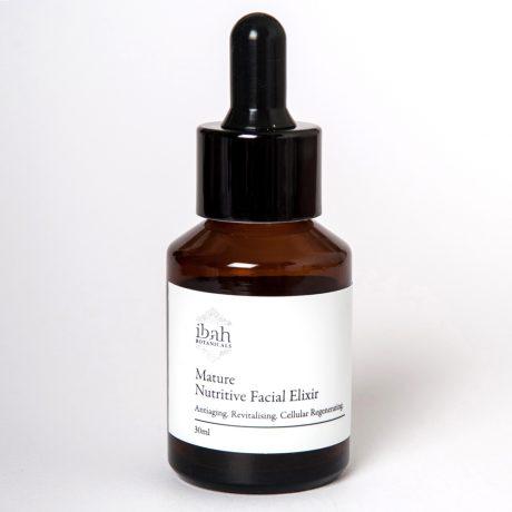 Mature Nutritive Facial Elixir-natural organic vegan skin care Australia 02 42687 2865