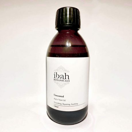 Unscented Body and Bath Oil